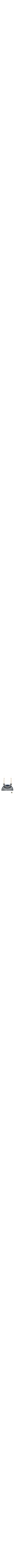 A colorful and fun Menorah with a multi-purpose twist – it's also a modern candle holder! A modern matte silver Menorah with funky arms features a removable colorful shamash