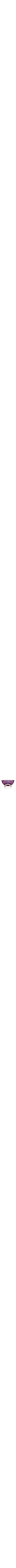 Colorful anodized aluminum with hammering Best selling Anodized aluminum reversible Menorah candlesticks purple