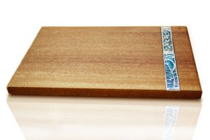 Challah board - Mahogany wood