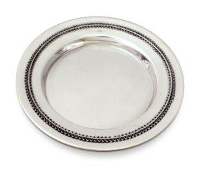 Classic Kiddush Plate