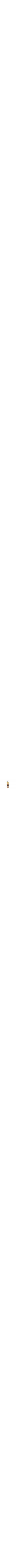 Colorful striped Mezuza