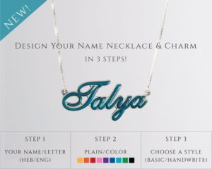 PERSONALISED COLORED JEWELRY