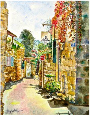 Jerusalem painting street