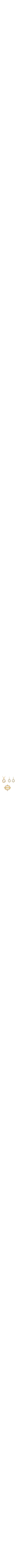 heart diamonds gold Set