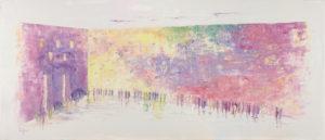 Multicolor western wall kotel