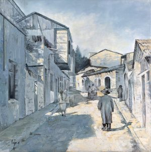 contemporary Art Mea Shearim painting