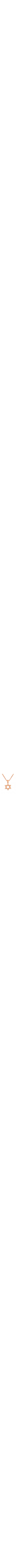 Rose Gold 14k Star of David Pendant