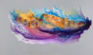 Abstract KOTEL painting
