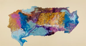 Abstract Kotel Colored painting