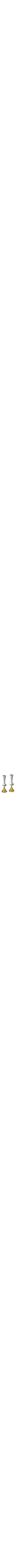 Hammered GOLD Candlesticks