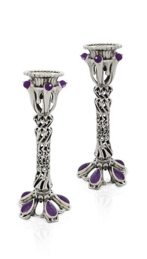 Exclusive sterling silver Candlesticks