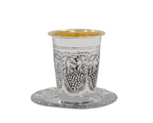 Grape Design Kiddush Cup