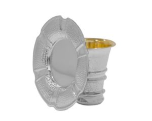 Jewish Wedding Cup and Plate Set