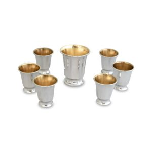 Kiddush Set with 6 Liqueurs